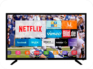 alquiler smart tv led 43